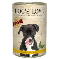 DOG'S LOVE BARF POLLO 400GR