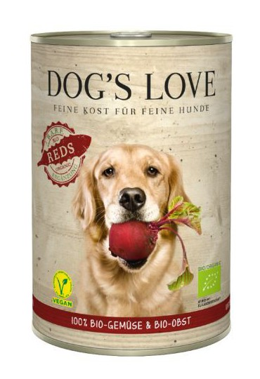 DOG'S LOVE FRUTAS Y VERDURAS BIO REDS 400GR