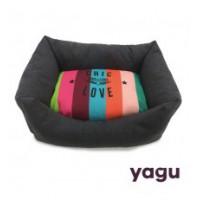 YAGU CHIC&LOVE CUNA PARA PERROS ARCOIRIS TALLA 3