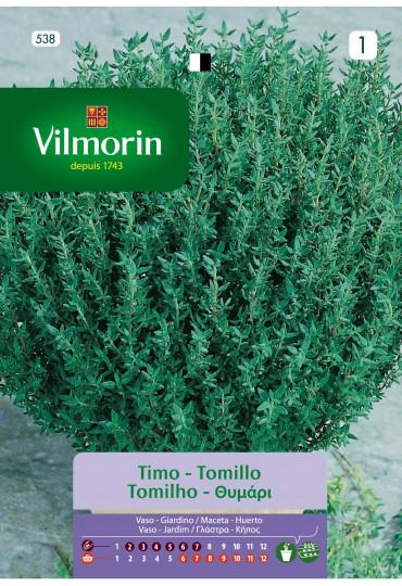 VILMORIN SEMILLAS TOMILLO