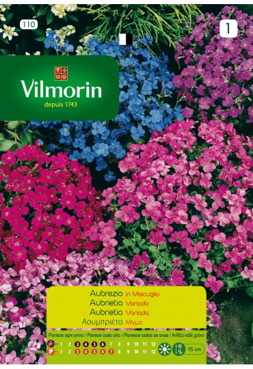 VILMORIN SEMILLAS AUBRIETA VARIADA