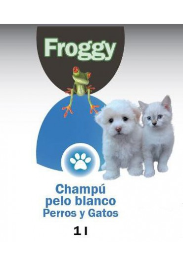FROGGY CHAMPU PELO BLANCO 1 LT