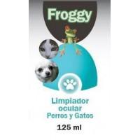 FROGGY LIMPIADOR OCULAR PERRO-GATOS 125 ML