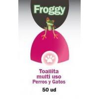 FROGGY TOALLITAS MULTI USO PERROS - GATOS BOTE 50