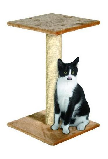Rascadores para gatos RASCADOR PARA GATO STEFFI BEIGE 38X38X60 CM   Mundo  Verde/Garden Center