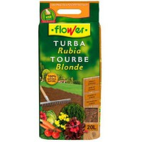 SUbSTRATO TURBA RUBIA 20 LTS FLOWER