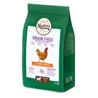 NUTRO DOG GRAIN FREE ADULT MEDIUM POLLO 1.4 KG