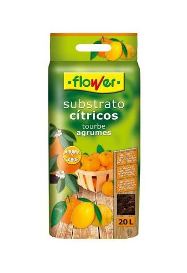 SUBSTRATO CITRICOS 20 LTS. FLOWER