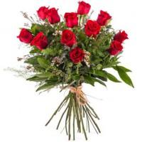 Ramo de Rosas rojas naturales