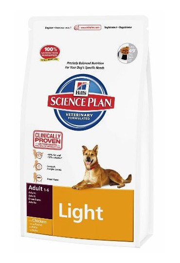 Hill's Canine Adult Light Pollo