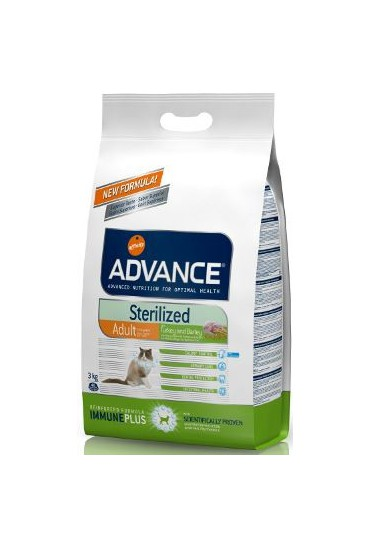 Advance Sterilized Pavo y Cebada