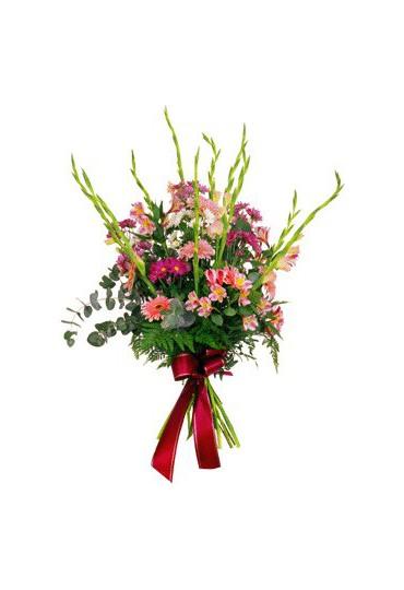 Ramo de flores naturales para funeral