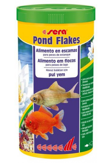 SERA POND BIOFLAKES 1000ML ALIMENTO EN ESCAMAS