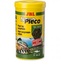 JBL NOVOPLECO PARA PECES ORNAMENTAL CHIPS 100 ML.